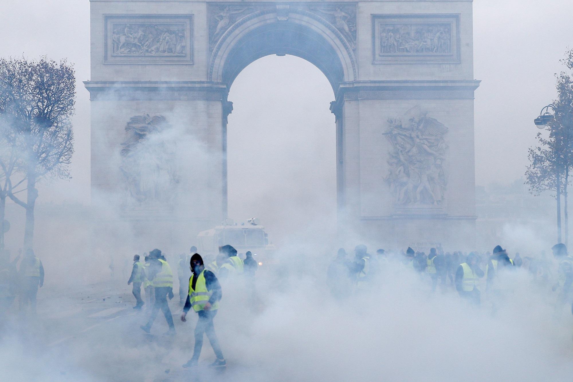 Protestat në Francë