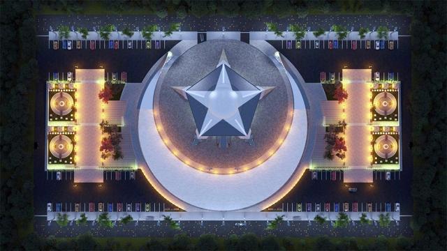 U Sivasu postavljeni temelji za izgradnju džamije u obliku mjeseca i zvijezde