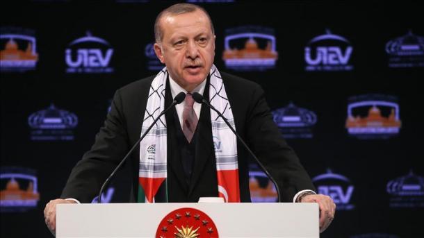 Erdogan: Jerusalemi është vijë e kuqe, kauzë e përbashkët e të gjithë myslimanëve | TRT  Shqip