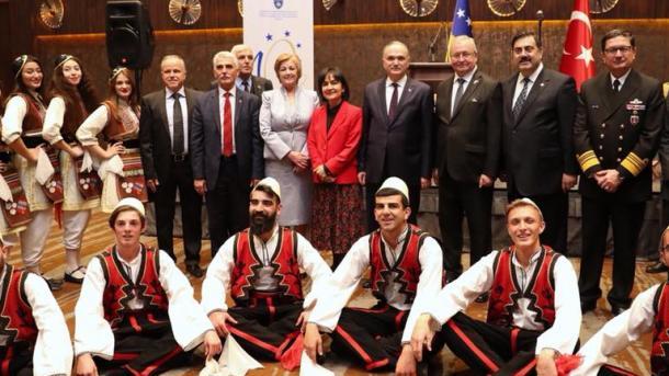 Pritje madhështore në Ankara me rastin e 10-vjetorit të pavarësisë së Republikës së Kosovës | TRT  Shqip