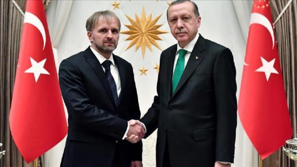 Erdogan primio akreditivna pisma novog ambasadora BiH Bakira Sadovića