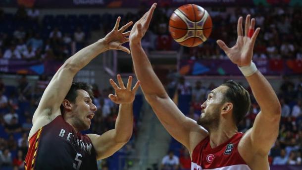 土耳其国家男篮击败比利时确保晋级16强 | 三昻体育