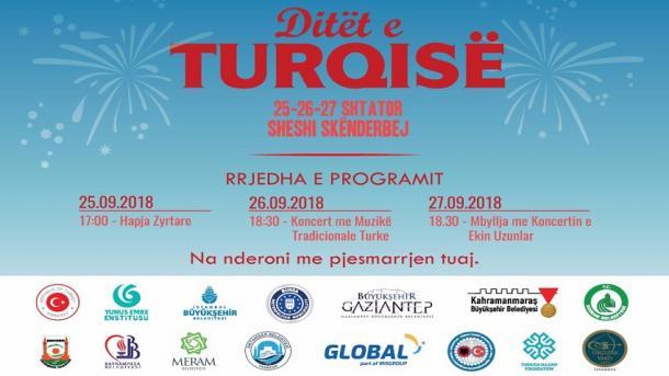 """Aktiviteti """"Ditët e Turqisë"""" për të dytin vit radhazi në Tiranë   TRT  Shqip"""
