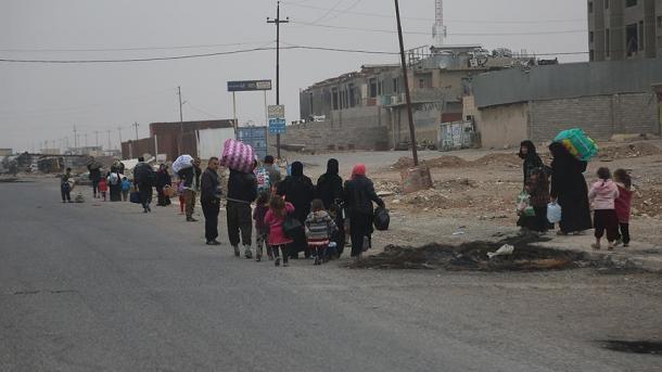 ООН: Замесяц Мосул покинули 60 тыс. беженцев