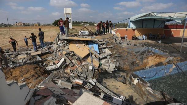 Izraeli bombardoi 140 objekte të Hamasit në Rripin e Gazës   TRT  Shqip