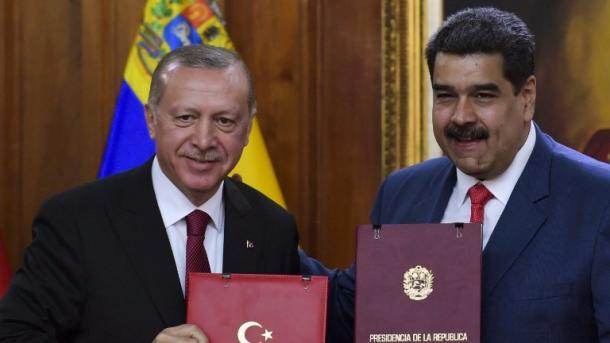 لقاء اردوغان – مادورو   TRT  Arabic