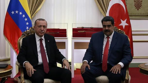 Pourquoi Erdoğan est-il un fervent défenseur de Maduro?