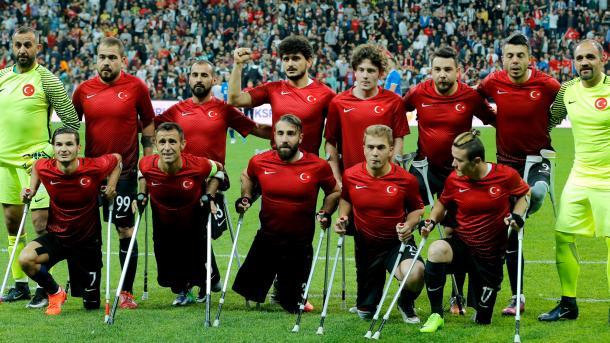 Turquía se enfrentará a México en semifinales del Mundial de Amputados
