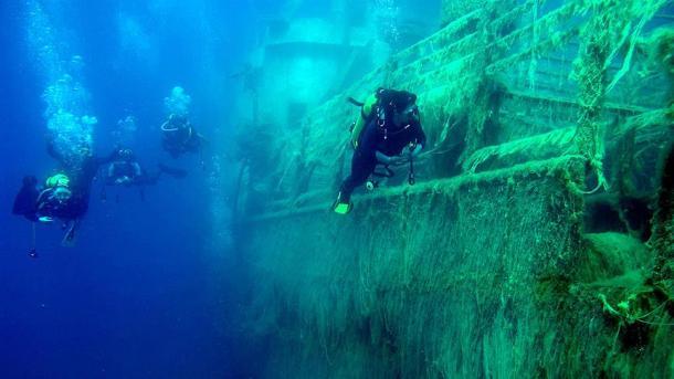 Hallan un submarino de la Primera Guerra Mundial