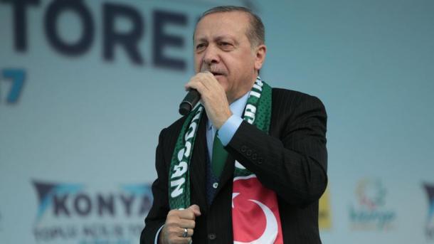 Путин поздравил Эрдогана сДнем Республики