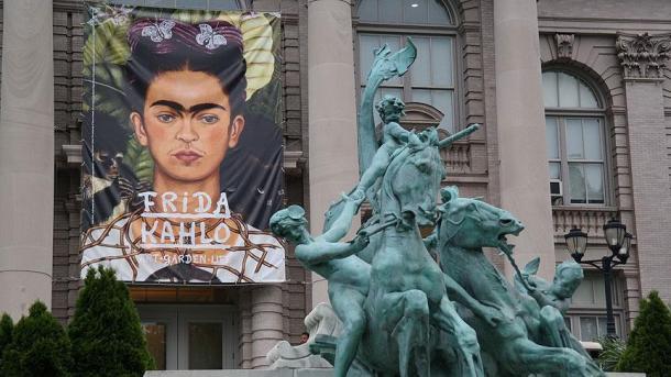 Precio de récord por la obra de Frida Kahlo en Nueva York