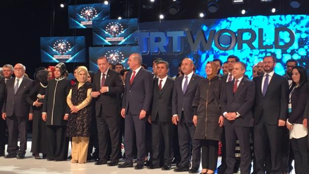 Video Simposium TRT World di Istanbul