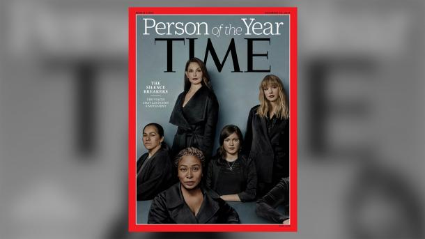 "Time:  ""Persona dell'anno"" è ""Silence Breakers"