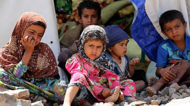 ВЙемене ежедневно умирают 130 детей