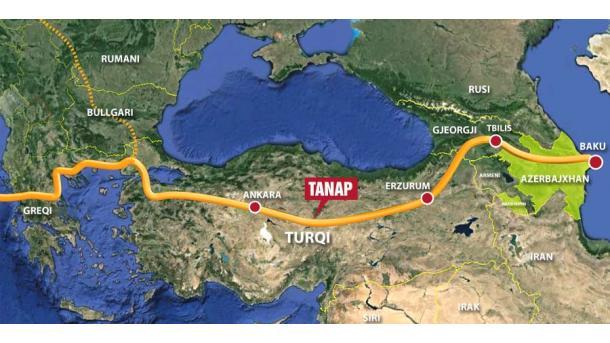 TPAO siguron kredi për gazsjellësin TANAP | TRT  Shqip