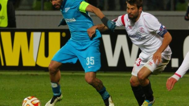 Sevilla knock Zenit out of Europa League