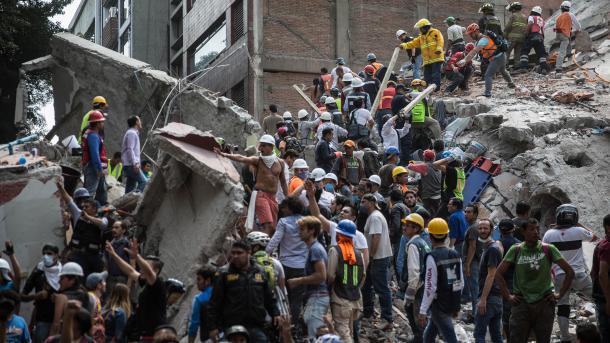 México expresa condolencias por la muerte de nueve extranjeros tras sismo