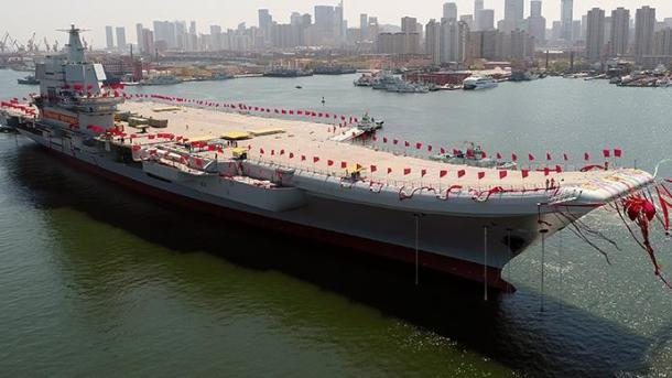 China prueba su primer portaviones de fabricación nacional