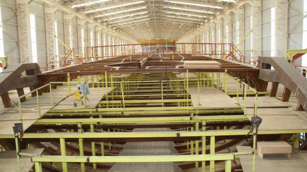 Jahti më i gjatë në botë me vela ndërtohet në Turqi