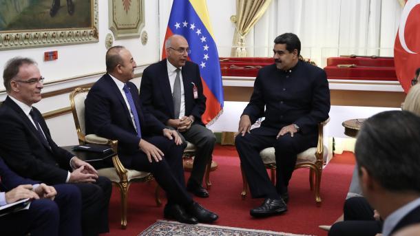 Maduro y Canciller Turco sostienen encuentro para fortalecer alianzas bilaterales