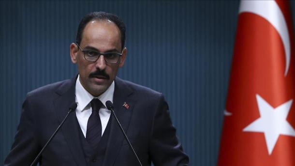 Kalin: Turqia i qaset me kujdes premtimit të ShBA-së | TRT  Shqip