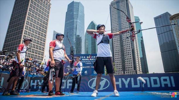 土耳其男子复合弓射箭队在中国勇夺两枚银牌 | 三昻体育
