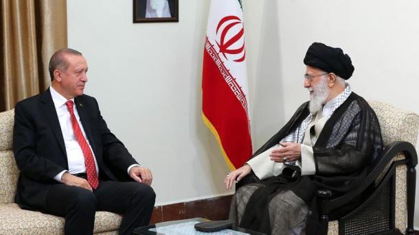 لقاء اردوغان – خامنئي   TRT  Arabic
