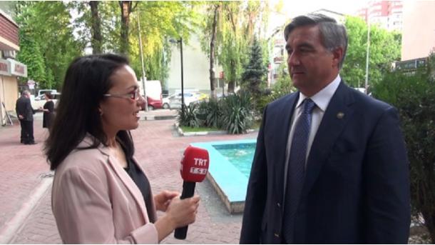 Tatarstan Baş ministrı urınbasarı Vasil Şäyxraziyev | TRT  Tatarça