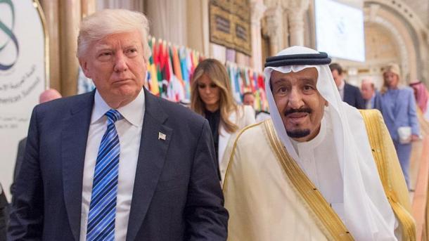 Trump përkrah Mbretin Selman për arrestimet | TRT  Shqip