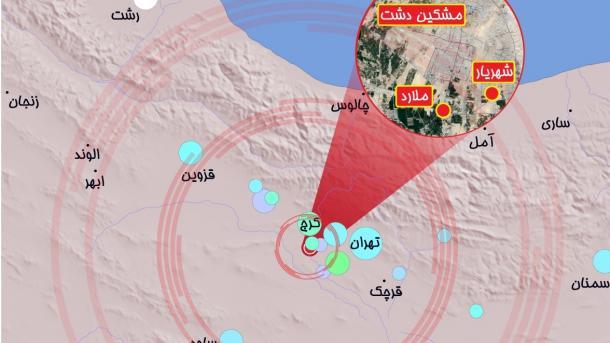 Jači zemljotres pogodio Iran, nema podataka o stradalim i pričinjenoj šteti