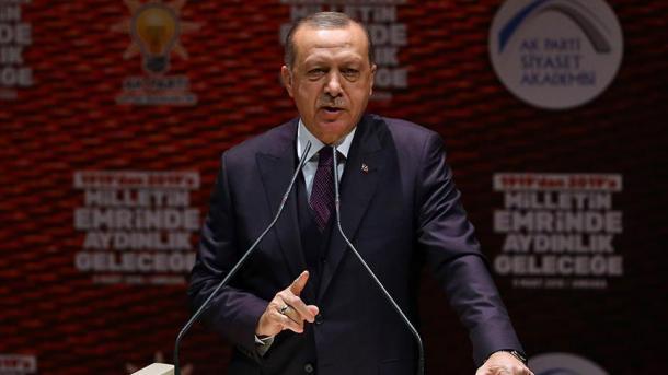 Erdogan: Ushtria turke gati për të hyrë në qendër të distriktit Afrin të Sirisë   TRT  Shqip