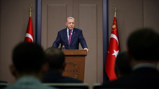 Le président Erdogan menace