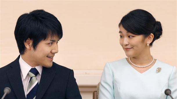 【日本】 愛のために皇族の身分を捨てる決意をした眞子内親王、結婚を正式に発表 | TRT  日本語