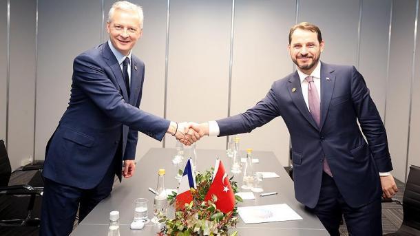 Turqia dhe Franca dakord për të bashkëvepruar kundër sanksioneve amerikane | TRT  Shqip