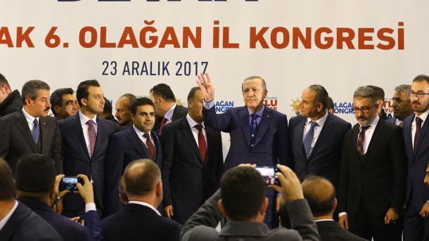 El presidente de Turquía califica de