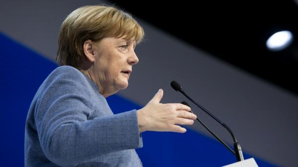 Merkel sieht Finanzkonflikt in EU aufziehen