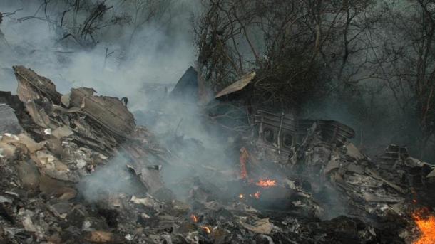 ВПакистане разбился пассажирский самолет