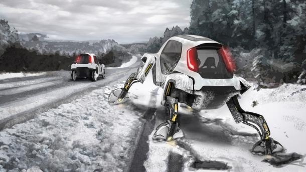 El nuevo automóvil con patas de Hyundai