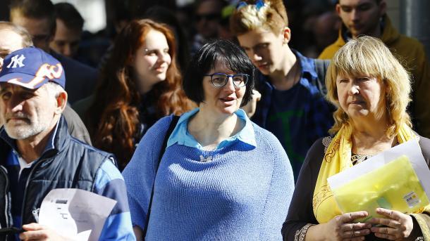 ВПетербурге наакции «Надоел» задержали 50 активистов, репортеров  ипрохожих