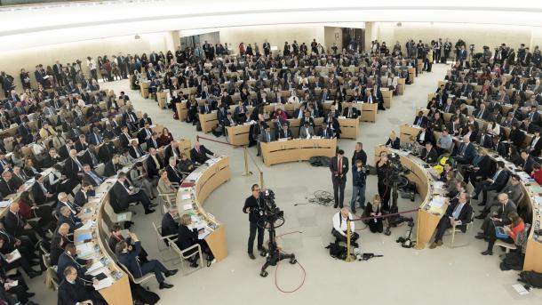 Këshilli për të Drejtat e Njeriut i OKB-së mblidhet me temë Gutën Lindore | TRT  Shqip