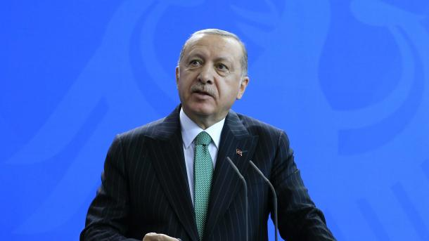 Recep Tayyip Erdogan fait le point sur sa visite en Allemagne