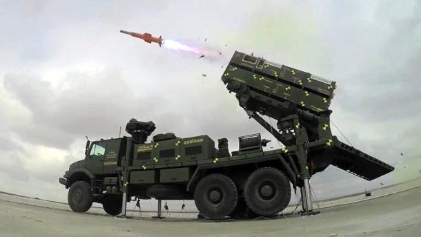 Ushtria turke deklaron datën e testimit të raketës vendore Hisar-O | TRT  Shqip