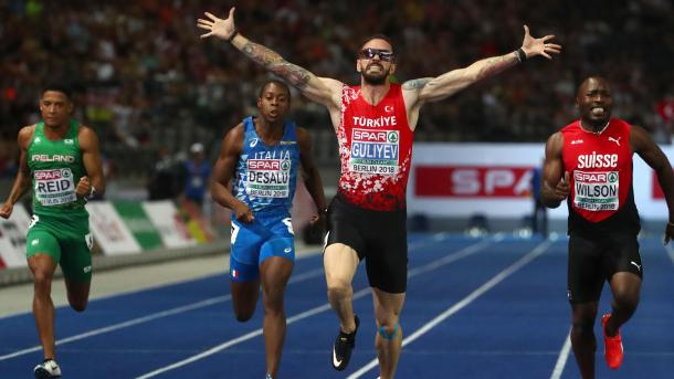 Guliyev holt Gold in Berlin