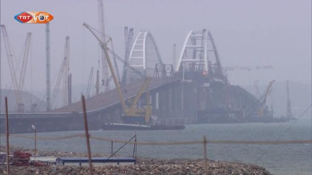 Russland riegelt Krim mit Grenzzaun ab