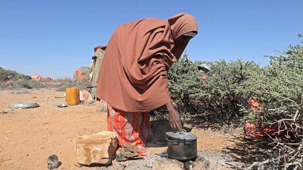 Registran 110 muertos en dos días por sequía en Somalia