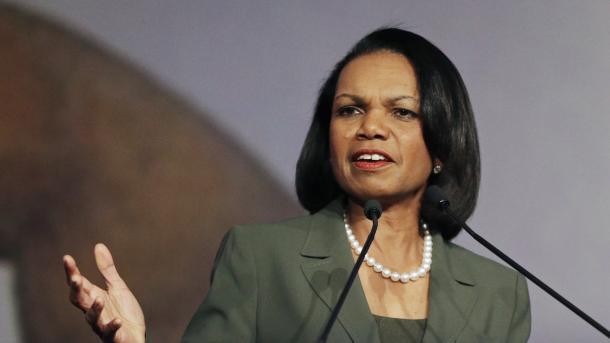 Condoleezza Rice admite plan para derrocar a Saddam Hussein