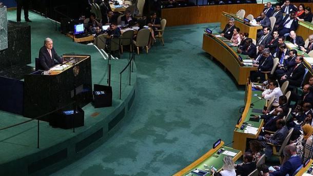 Staaten unterzeichnen Vertrag zum Verbot von Atomwaffen