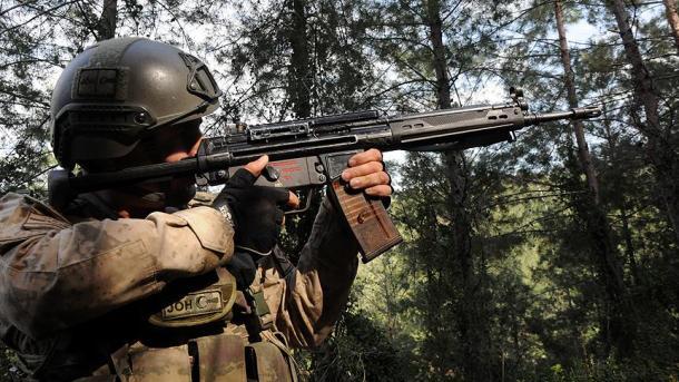 Forcat e sigurisë neutralizojnë 5 terroristë të PKK-së në lindje të Turqisë   TRT  Shqip