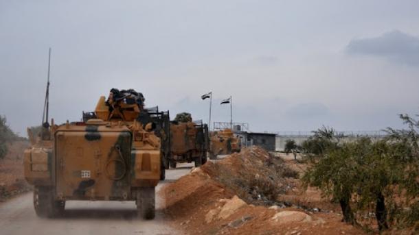 Танковый огонь вАфрине: Турецкие военные вупор расстреляли позиции курдов