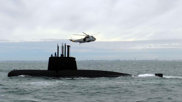 El último mensaje del submarino argentino